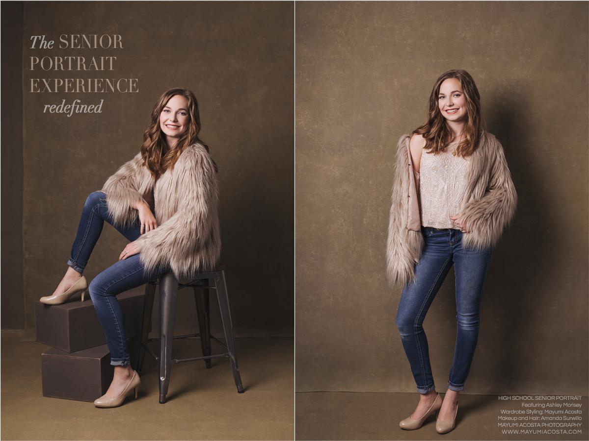 Beautiful Magazine Style Photographs of Sacramento High School Senior