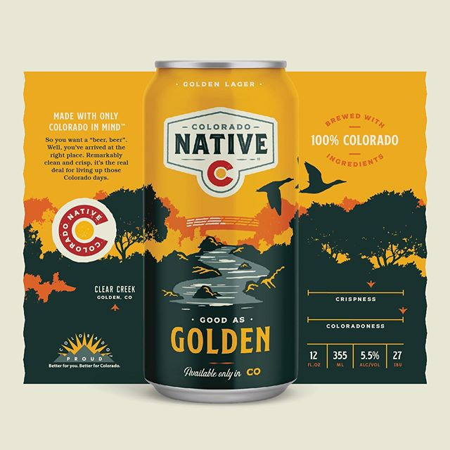Colorado's got more than mountains. I mean, there's a lot of mountains. But the new lineup celebrates more of what we love about this insanely beautiful landscape. It all starts at the brewery in Golden. . . . . . . . #branding #rebranding #packagingdesign #craftbeer #ohbeautifulbeer #thedieline #colorado #coloradoness #5280 #denver #goldencolorado #beercanart #candesign #designspiration #denverfoodie #coloradobeer @ohbeautifulbeer @thedieline @designspiration