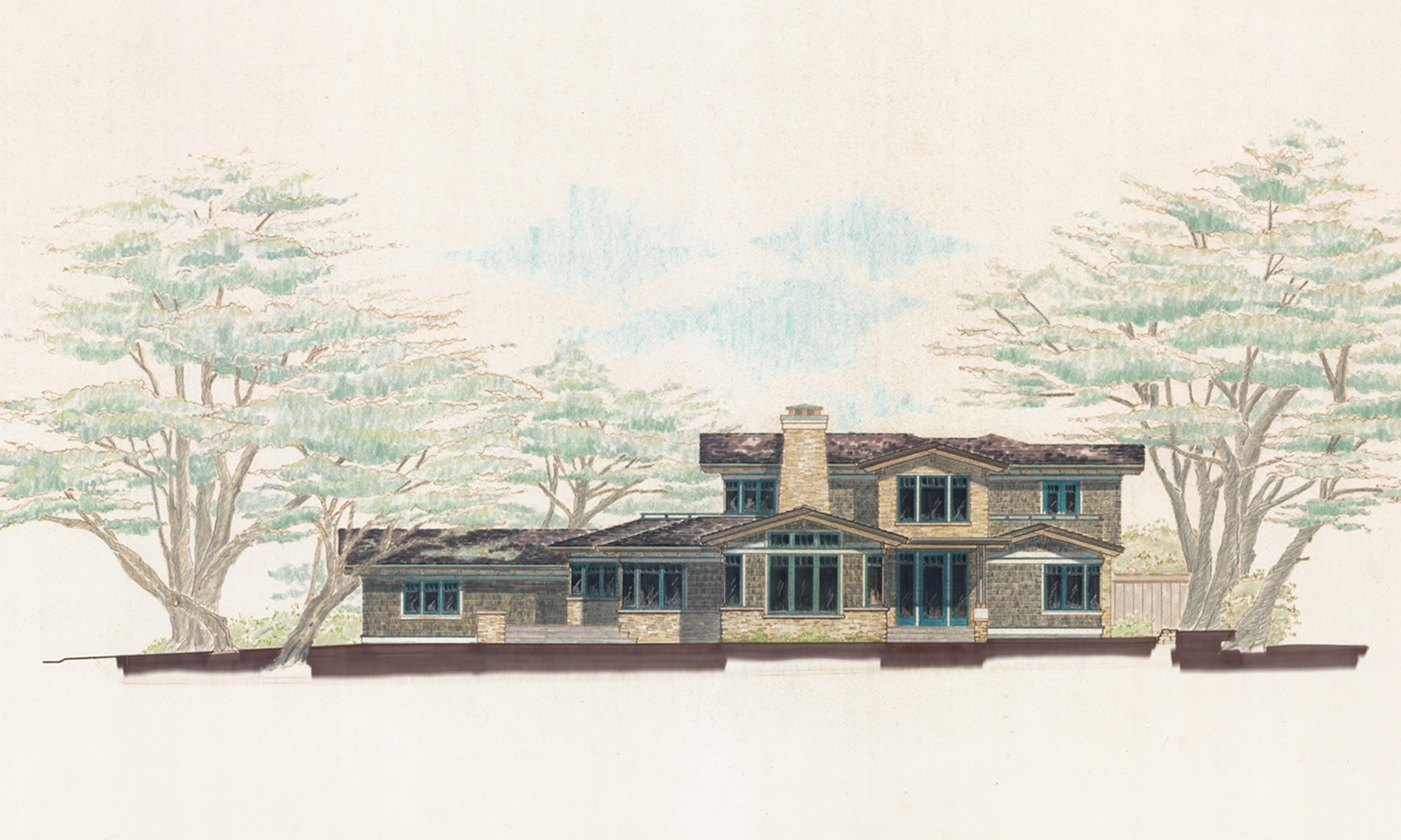 New Residence (proposed) - 3,180 square feet