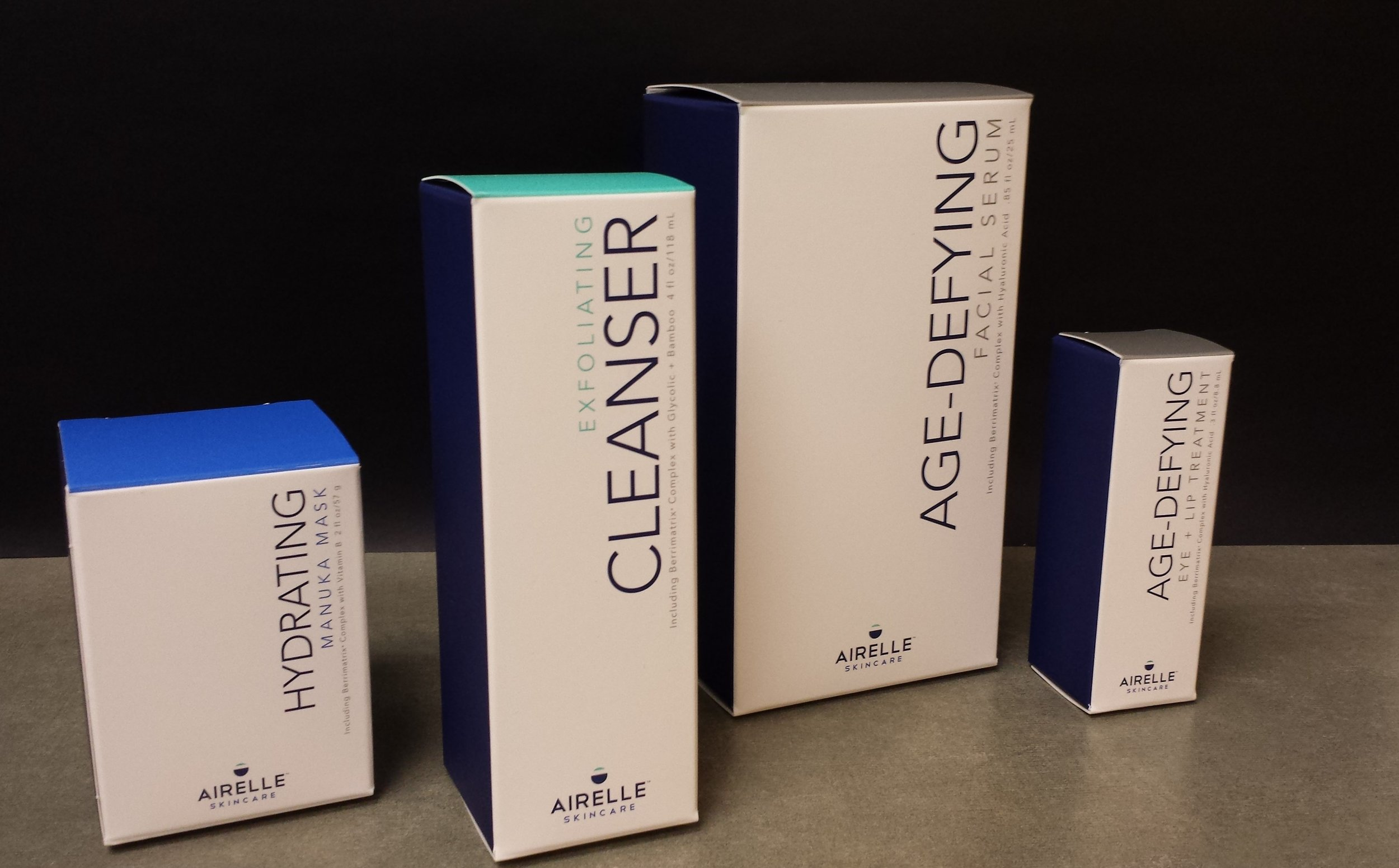 Airelle Skincare cartons