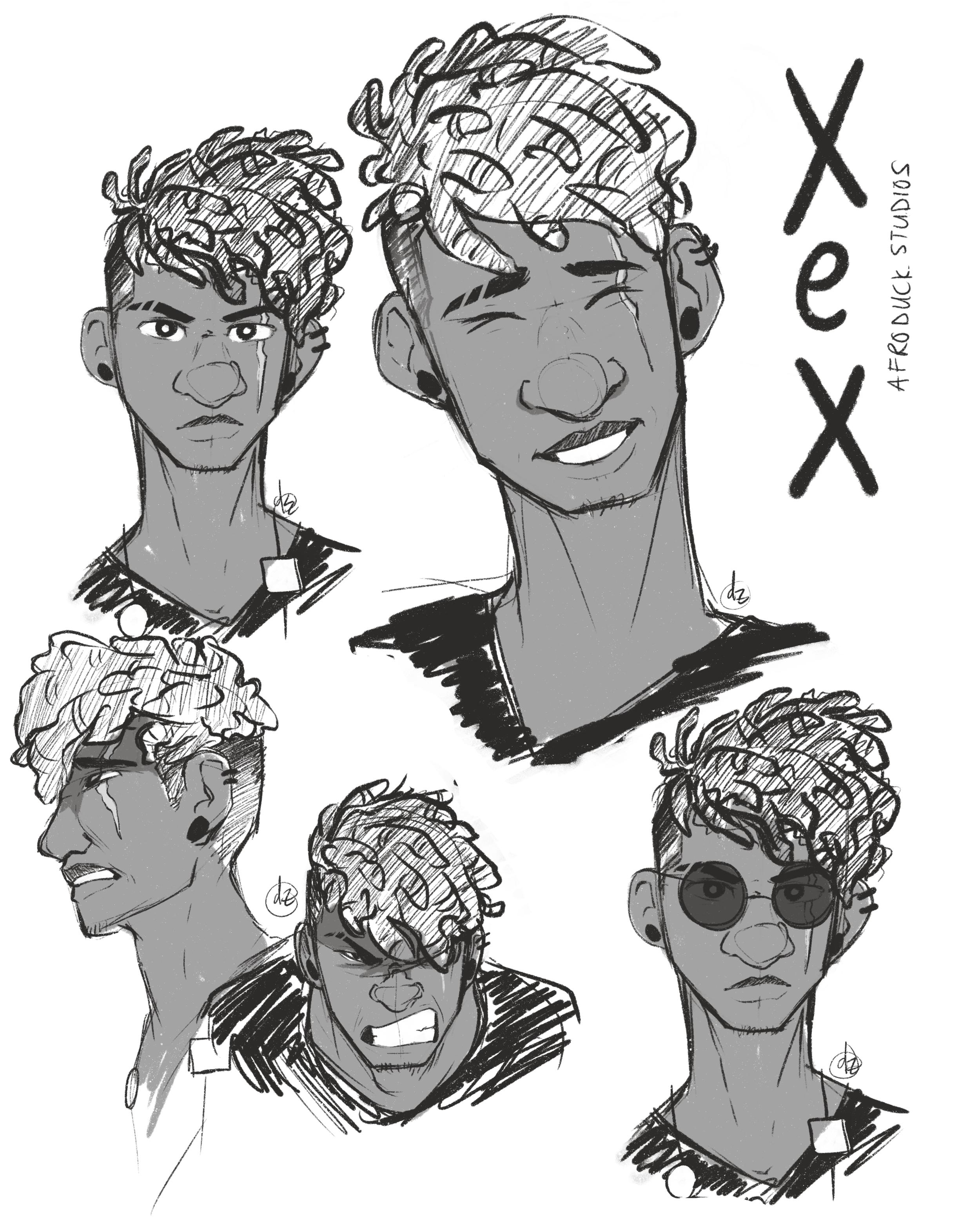 Xex Yaw Nkrumah (Portrait)