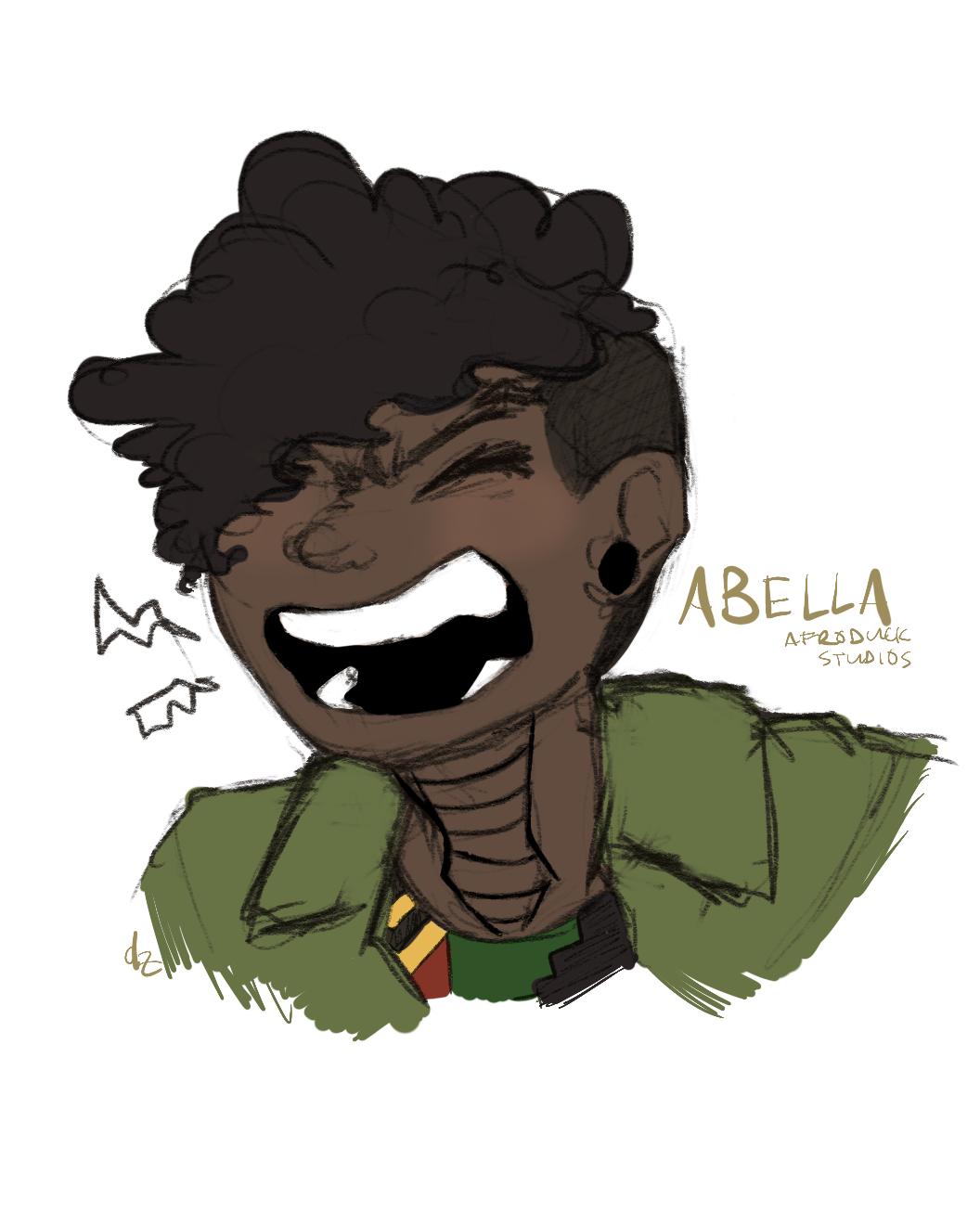 Belles Portrait (Anger)
