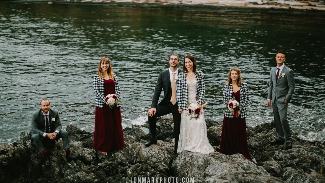 Victoria BC Wedding Photography Vancouver Island Fall Autumn Rain Rainy Wet Jon-Mark