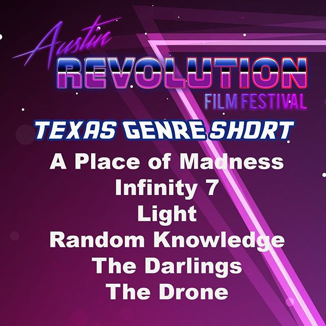 Infinity 7 is nominated for best Texas genre short at #austinrevolutionfilmfestival