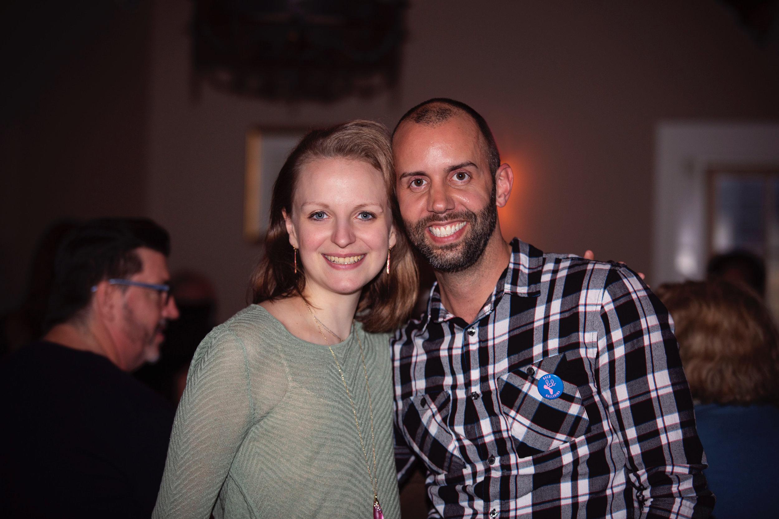 The Grand Tavern Fundraising Dancers Care Foundation Bald Ballerina Cancer. 3.JPG