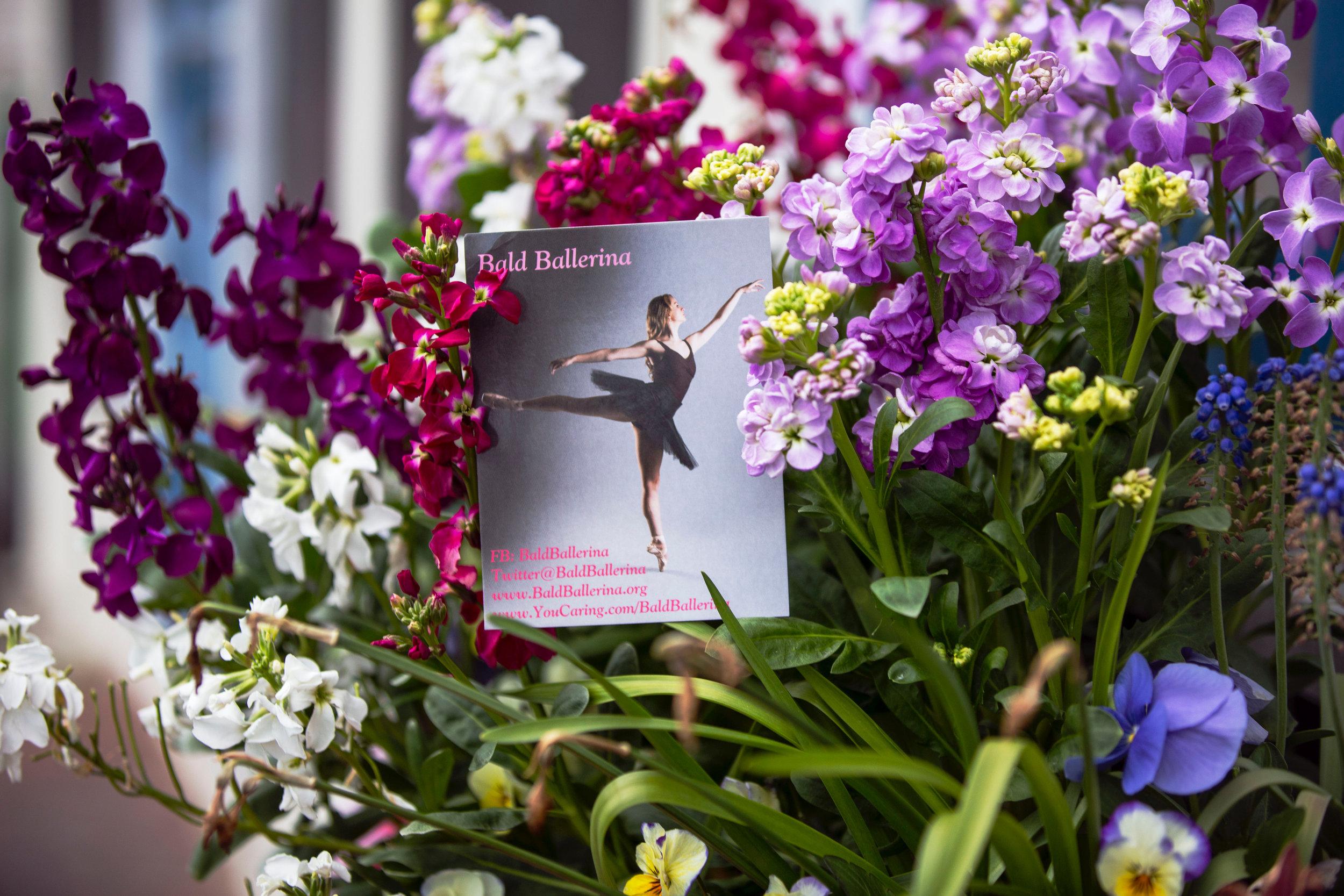 The Grand Tavern Fundraising Dancers Care Foundation Bald Ballerina Cancer.JPG