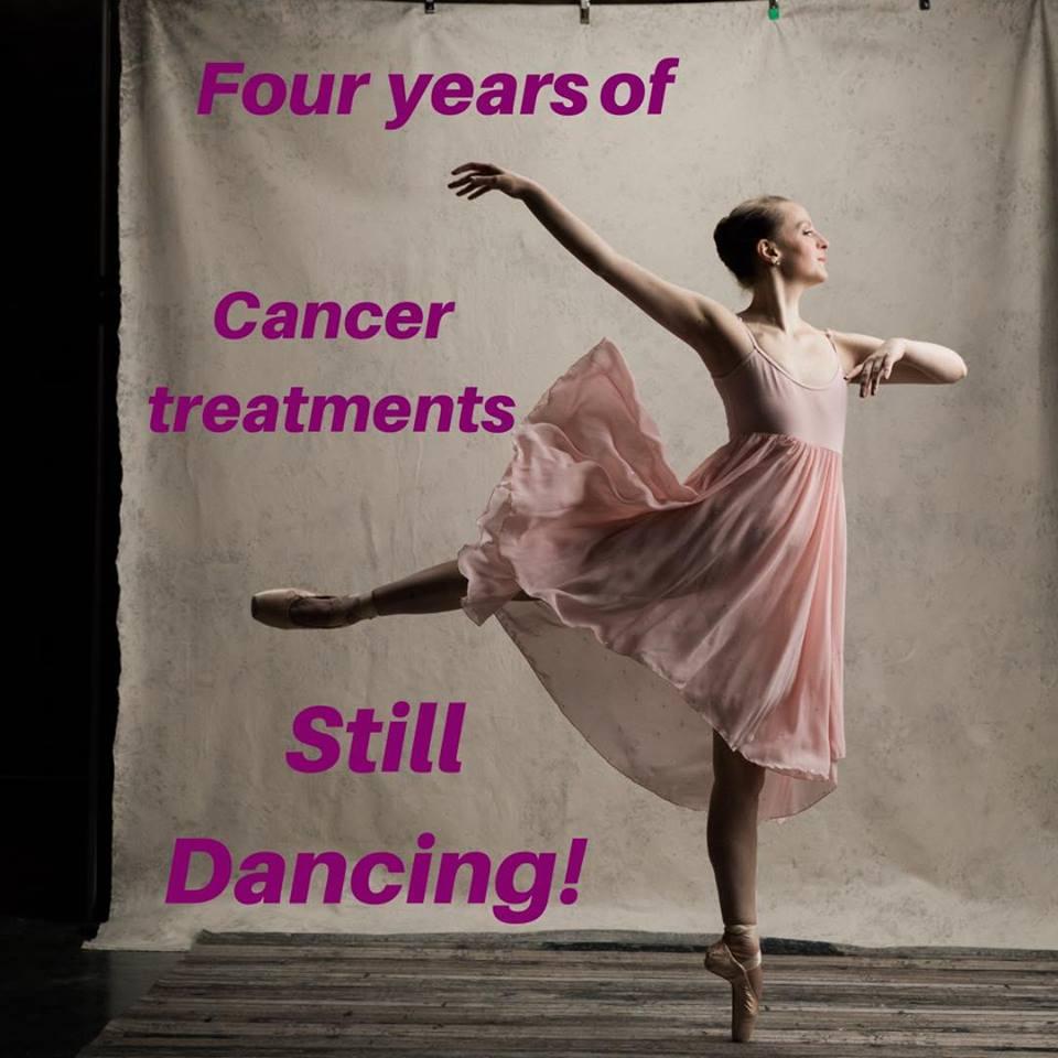 4th Cancerversary Bald Ballerina Breast Cancer Cancer.jpg