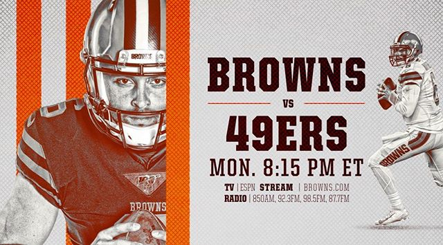 Come join us at @illmanneredbeer tonight from 5-10pm to cheer on the @clevelandbrowns as they take on the @49ers!! All the brews and sliders you could possibly want at this @powellohiobrownsbackers location!! 🍺🏈 #sevenlittlesliders #gobrowns #brownsbackers #brownsbackerbar #mondaynightfootball #614eats