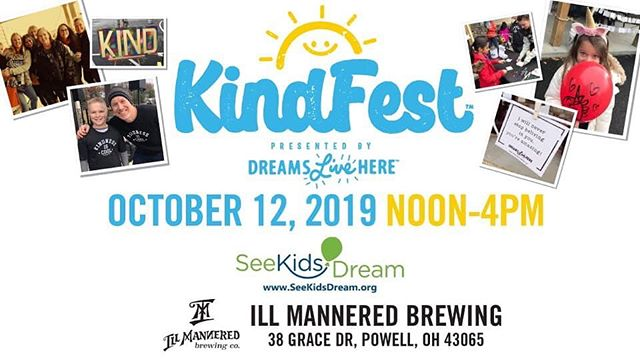 "Don't forget to join us at KindFest today at @illmanneredbeer! We will debut our lobster slider AKA ""KindRoll"" and a portion of each sale will be donated to the See Kids Dream organization. It is going to be a beautiful fall afternoon and a great opportunity to support our local youth! #kindfest #sevenlittlesliders #illmanneredbeer"