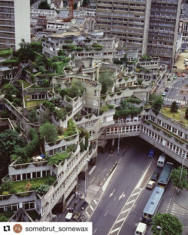 This Sept we'll be staying in an artist loft in Ivry-Sur-Seine within walking distance are some amazing examples of brutalist architecture.   We may have to grab a copy of the Brutalist Paris Map: https://bluecrowmedia.com/products/brutalist-paris-map  To join us on our group artist mini-residency, click the link in our bio. #twoartiststravel   #Repost @somebrut_somewax with @get_repost ・・・ 🗿 Les Etoiles, Ivry-sur-Seine, France. Architect: Jean Renaudie Photographer: Robert Doisneau Via: missionphoto.datar.gouv.fr #art #artist #architect #archilovers #architecture #architectureporn #architecturephotography #architecturelovers #awesome #brut #brutal #brutalism #brutalist #brutalismarchitecture #beautiful #perfect #raw #concrete #minimalism #style #details #design #dope #graphic #geometric #structure #beton #ivrysurseine