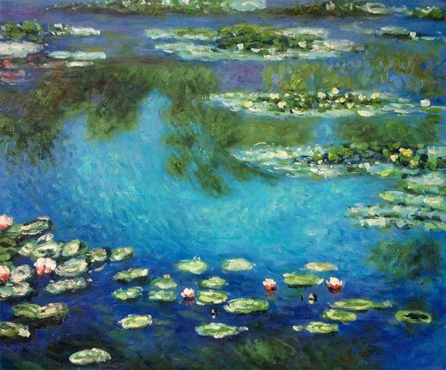 Museum Monday! We are featuring Musee de l'Orangerie today. Located in the Jardin de Tuileries, it houses a whole floor dedicated to Claude Monet's Water Lilies. This panoramic frieze is housed in two oval shaped rooms, which together make up the elliptical shape symbolizing infinity.  https://www.twoartiststravel.com/paris-france  https://www.twoartiststravel.com @susanstoverart @amandajolley #twoartiststravel #paris #france #residency #artistresidency #museums #louvre #museummonday #d'orsay #pompidou #travel #artandtravel #studioinparis #artopportunity #museedelorangerie #monet #waterlilies