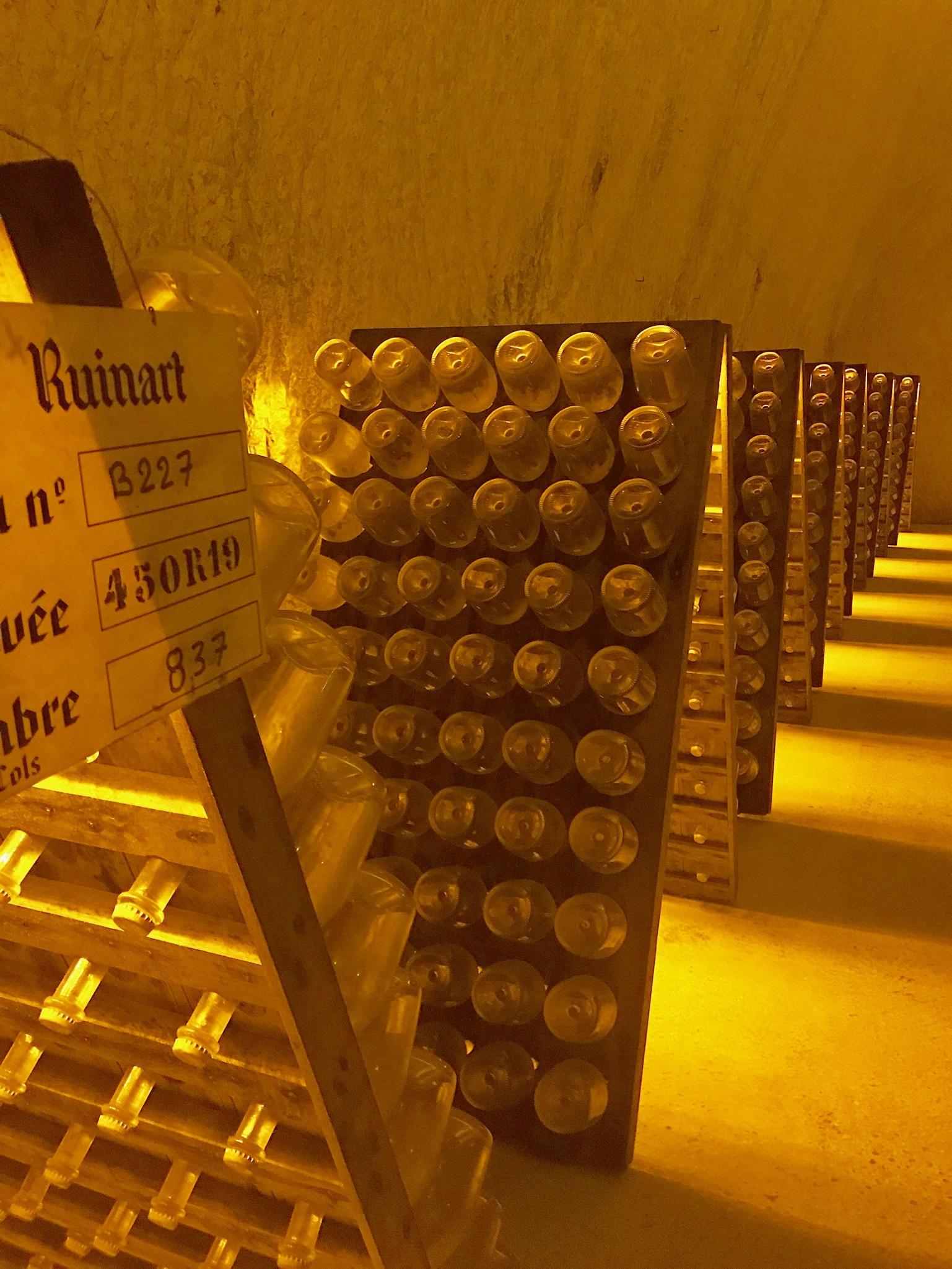 romance in paris + champagne -