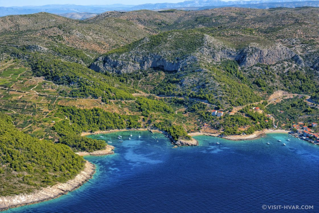 Afternoon Hike: Rugged Coast + Interior - If you have time, keep hiking east until you reach Milna. From there, more hiking trails open up towards the interior of the island, bringing you back to Hvar.