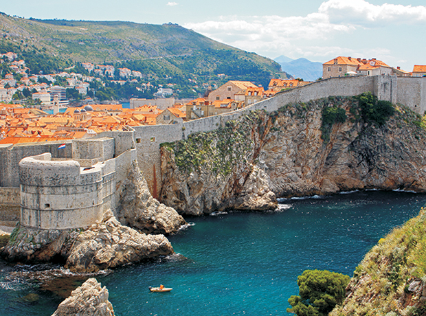 Dubrovnik City Walls - Dubrovnik's city walls were constructed between the 14th and 16th centuries and run over one mile around the historic center. Walk along the walls for stunning views, and pop into some of the cafés and small shops along the way. To enter, take one of the staircase entrances at the western and eastern gates. Tip: arrive early to avoid tourists, and have a light breakfast at one of the cafes.