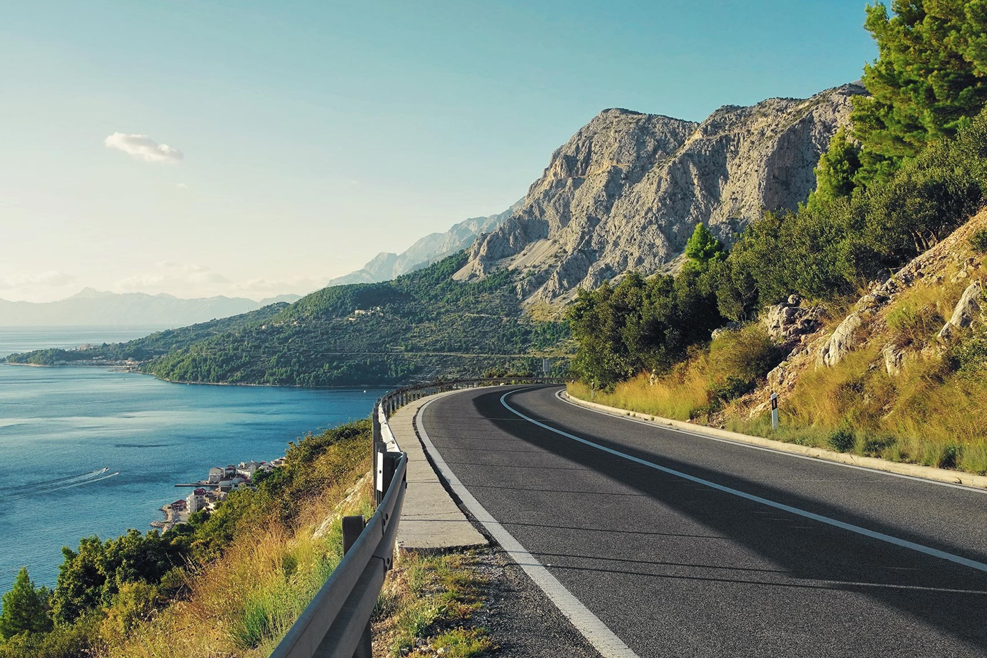 Late Morning: Drive to Dubrovnik - Drive along Croatia's jagged coastline on the Adriatic Highway to get from Split to Dubrovnik.