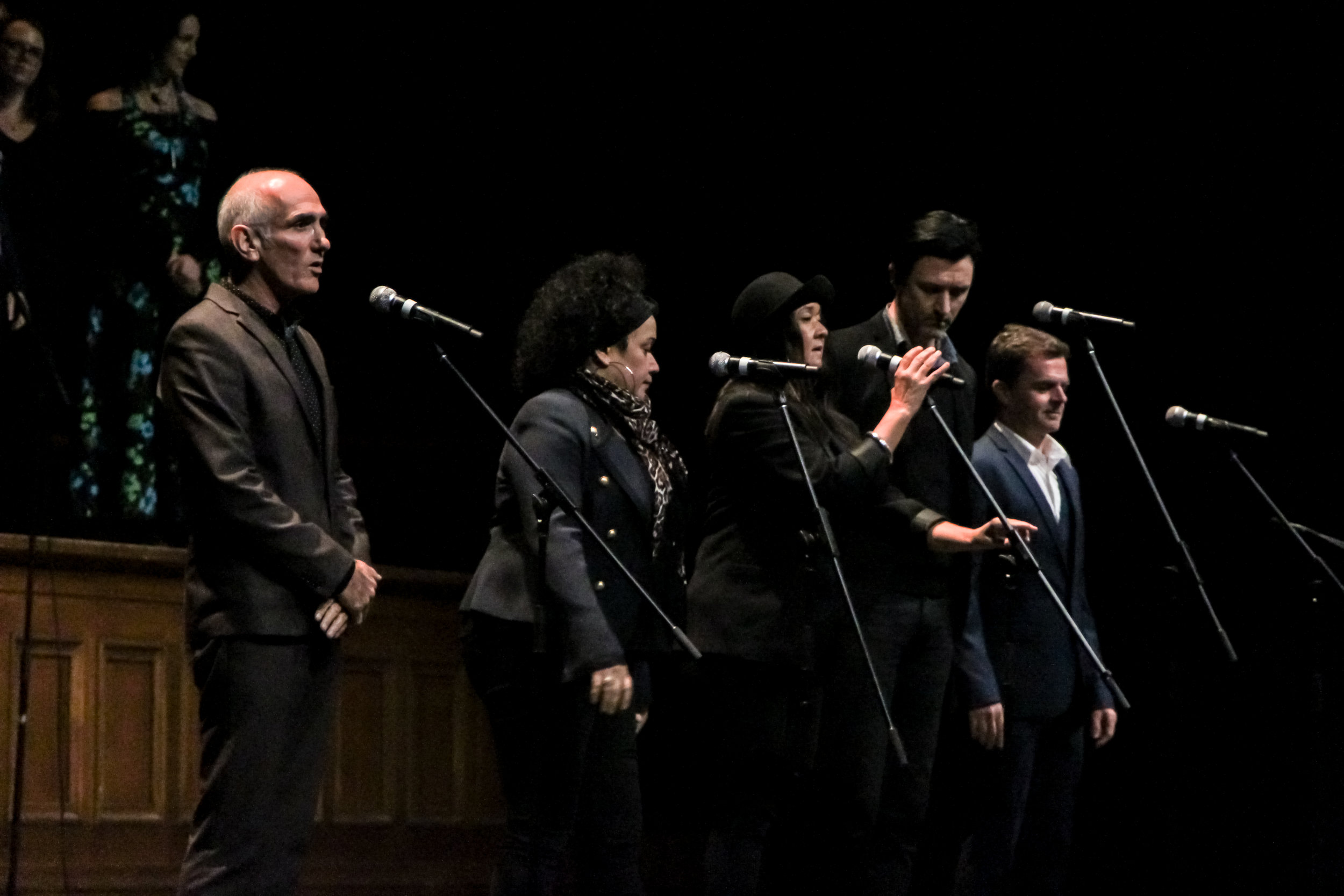 Paul Kelly, Vika & Linda, Paul Dempsey & Jeremy Smih for John Clarke's Memorial
