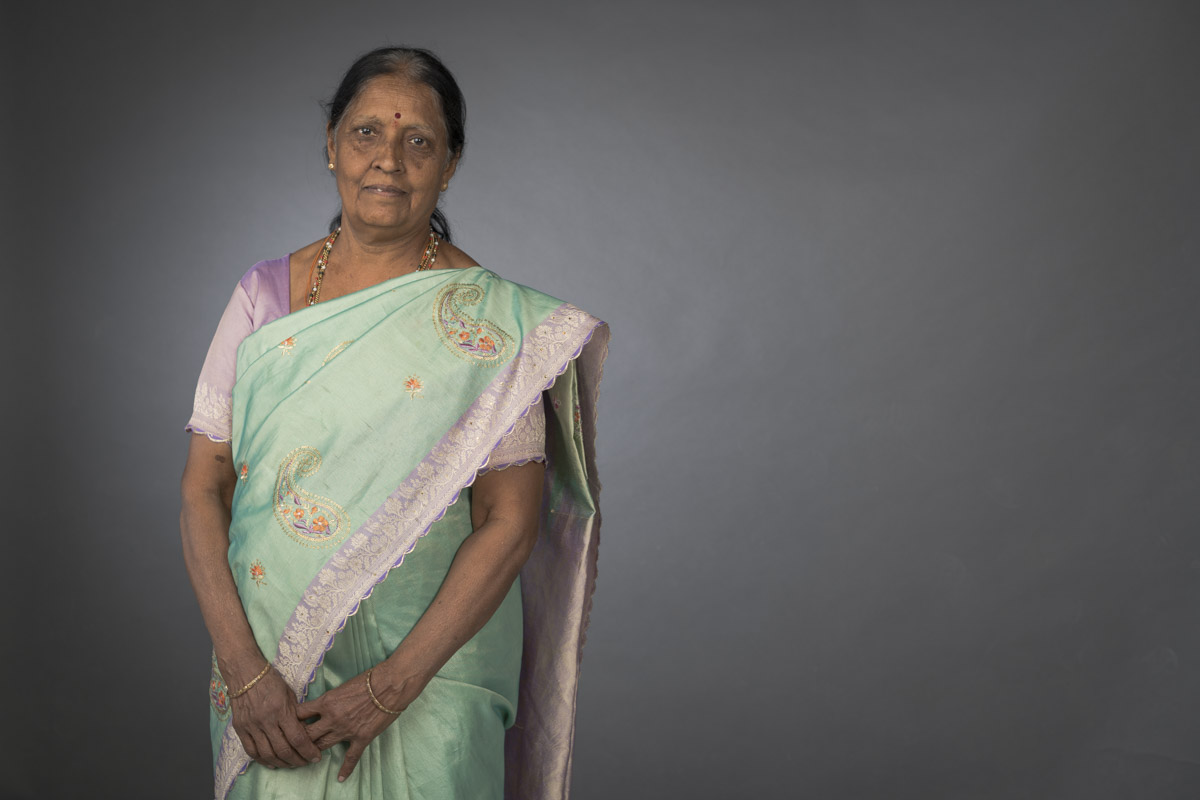 Mrs. Murthy was the only breadwinner in her family of five when she joined HMT at a very young age.