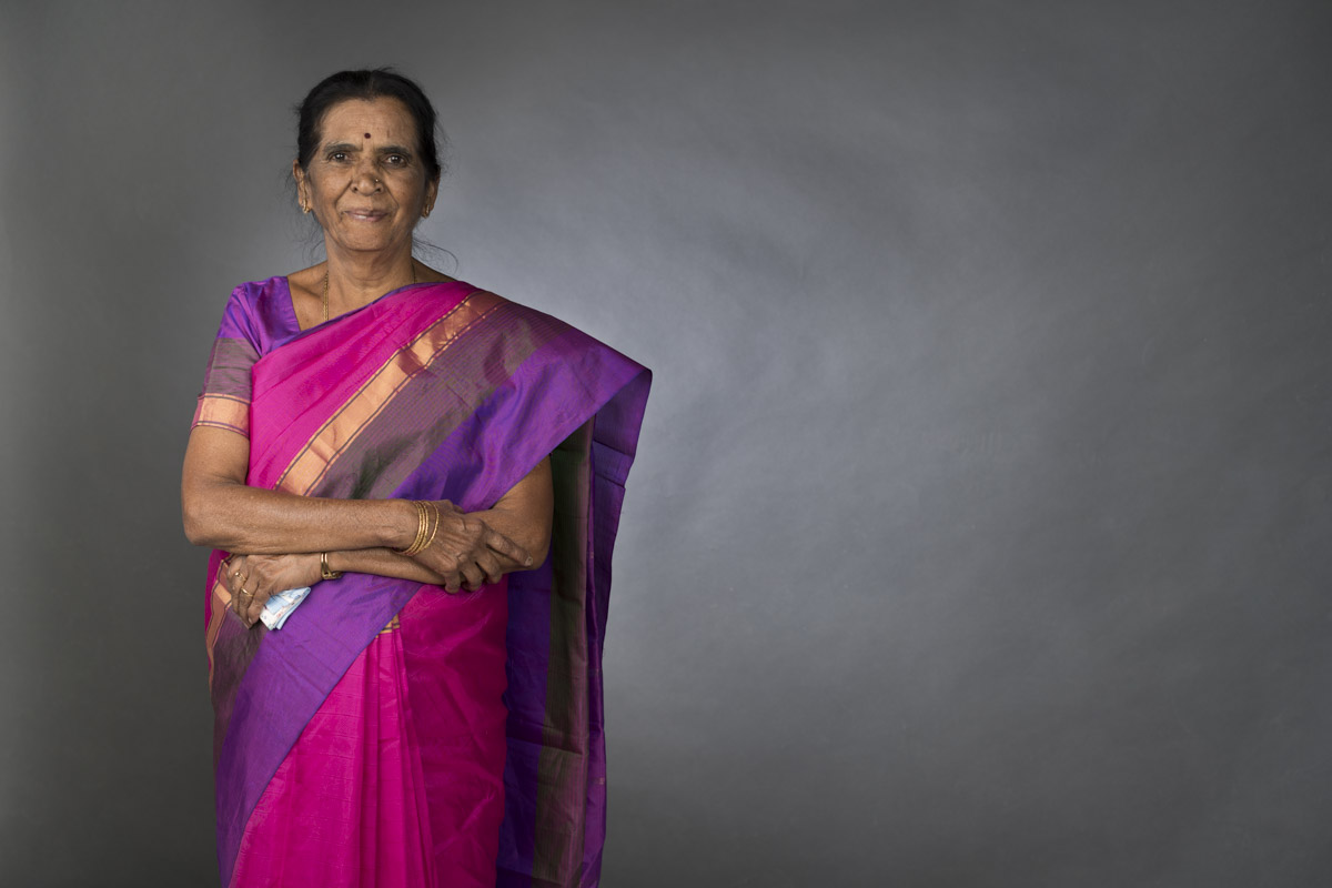 Mrs. Vijayalakshmi joined HMT as a young girl in 1963. She is all of 75 years at the time of this story.