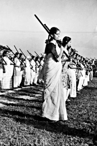 Stock Photo of Women liberation fighters in East Pakistan.