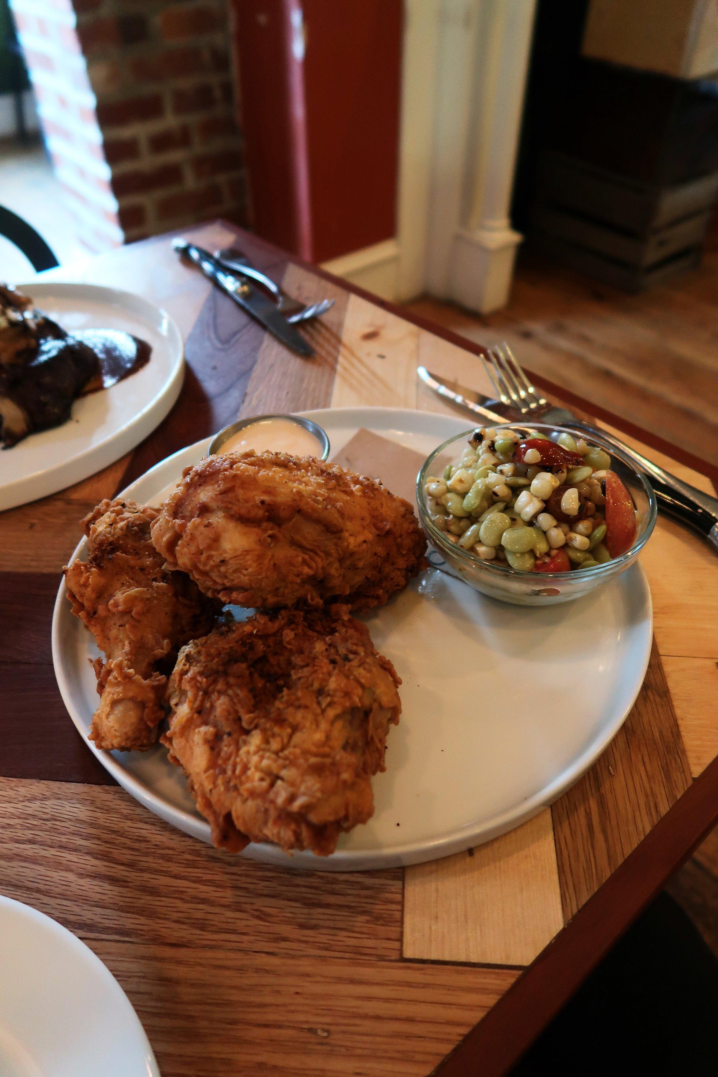 Special: Half fried chicken