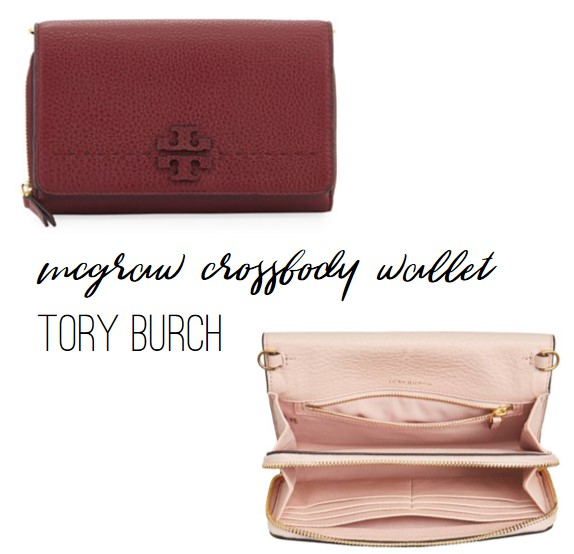 Tory Burch McGraw Crossbody Wallet, Nordstrom and Neiman Marcus