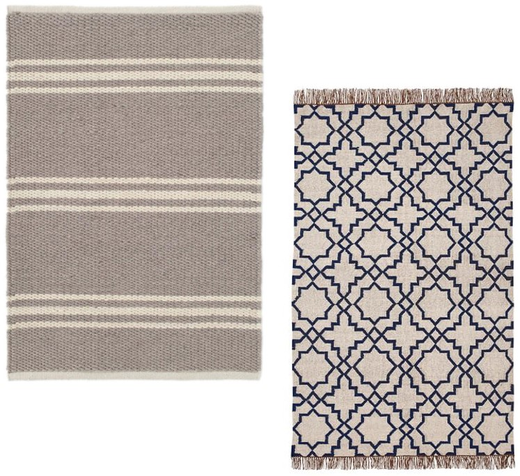 McGee and Co. and Pottery Barn Indoor Outdoor Rugs - FarmhouseRedefined.com