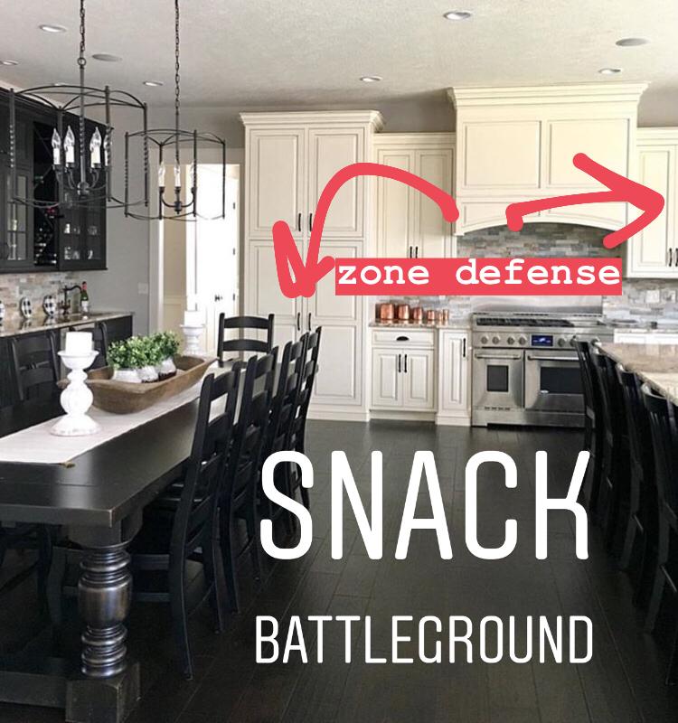 Snack battleground, kid-friendly summer snacks. Farmhouse Redefined.