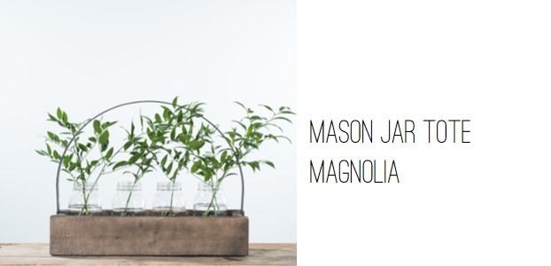 Magnolia Mason Jar Tote.