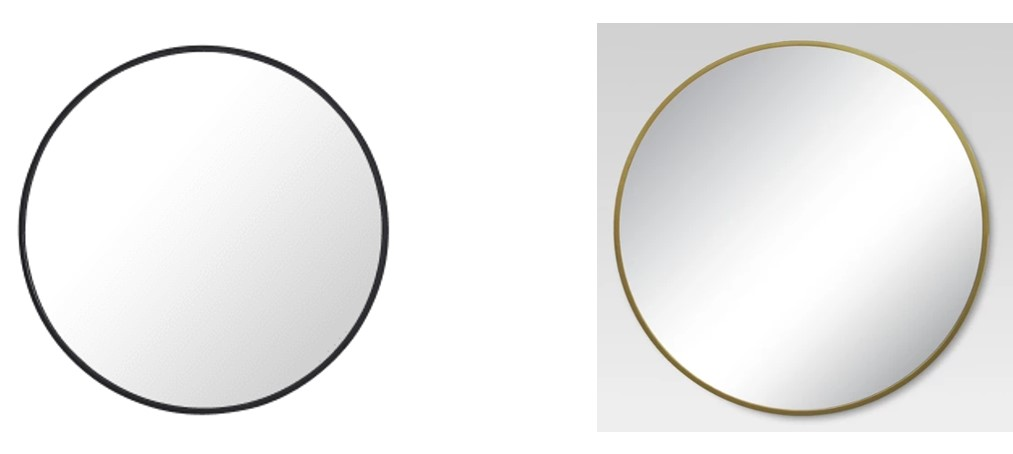 Mirrors by Build.com and Target.