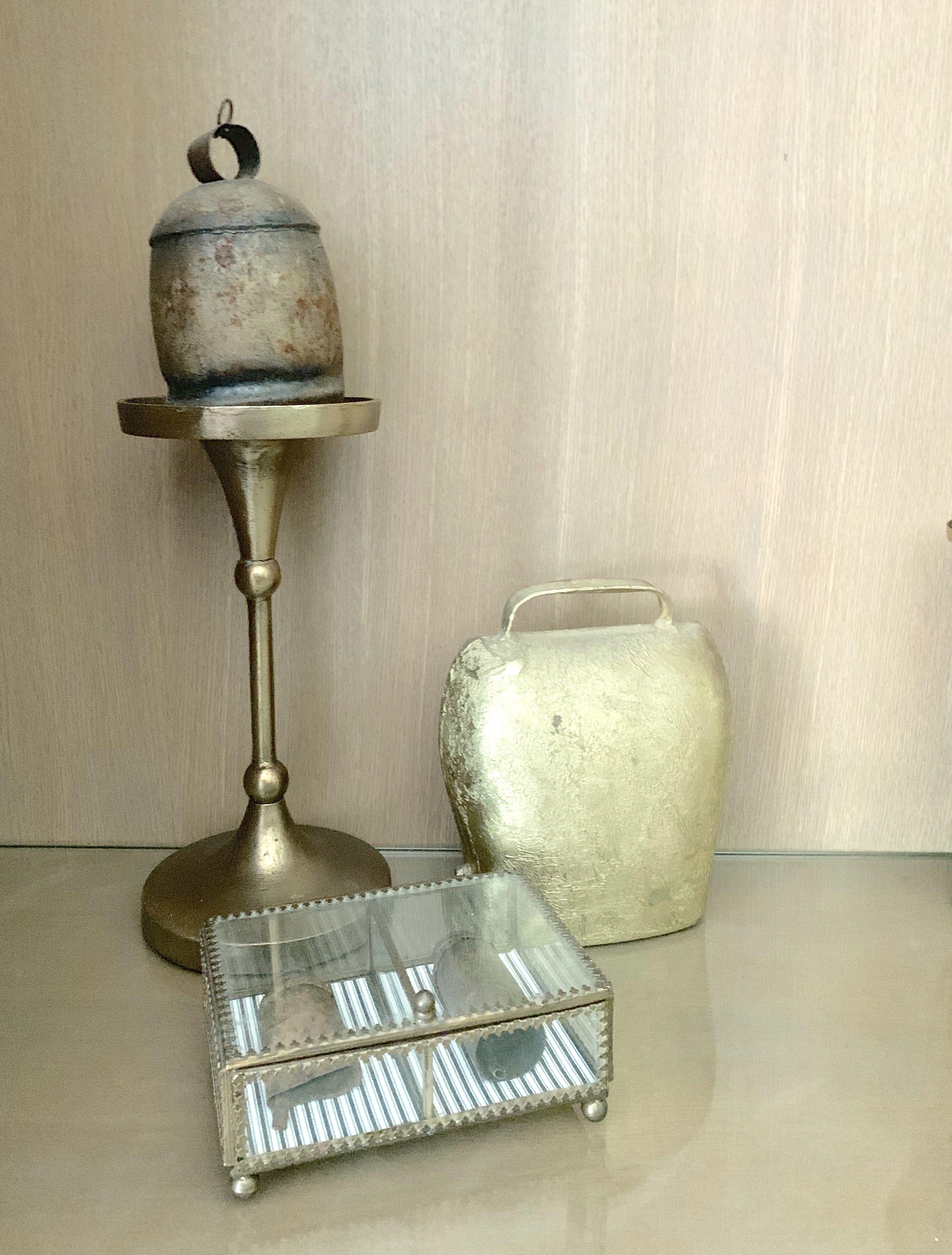 Ballard Designs Jacques Candle Holder modern farmhouse shelf décor. Farmhouse Redefined.
