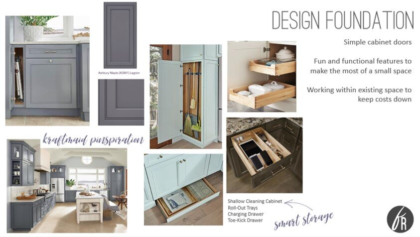 From the mood board I created for this space!