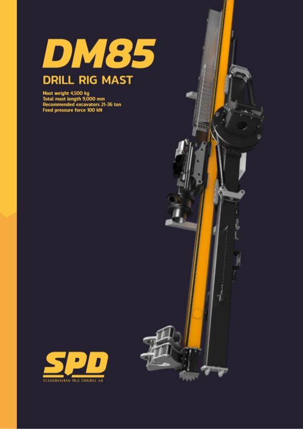 DM85 Drill Rig Mast Brochure