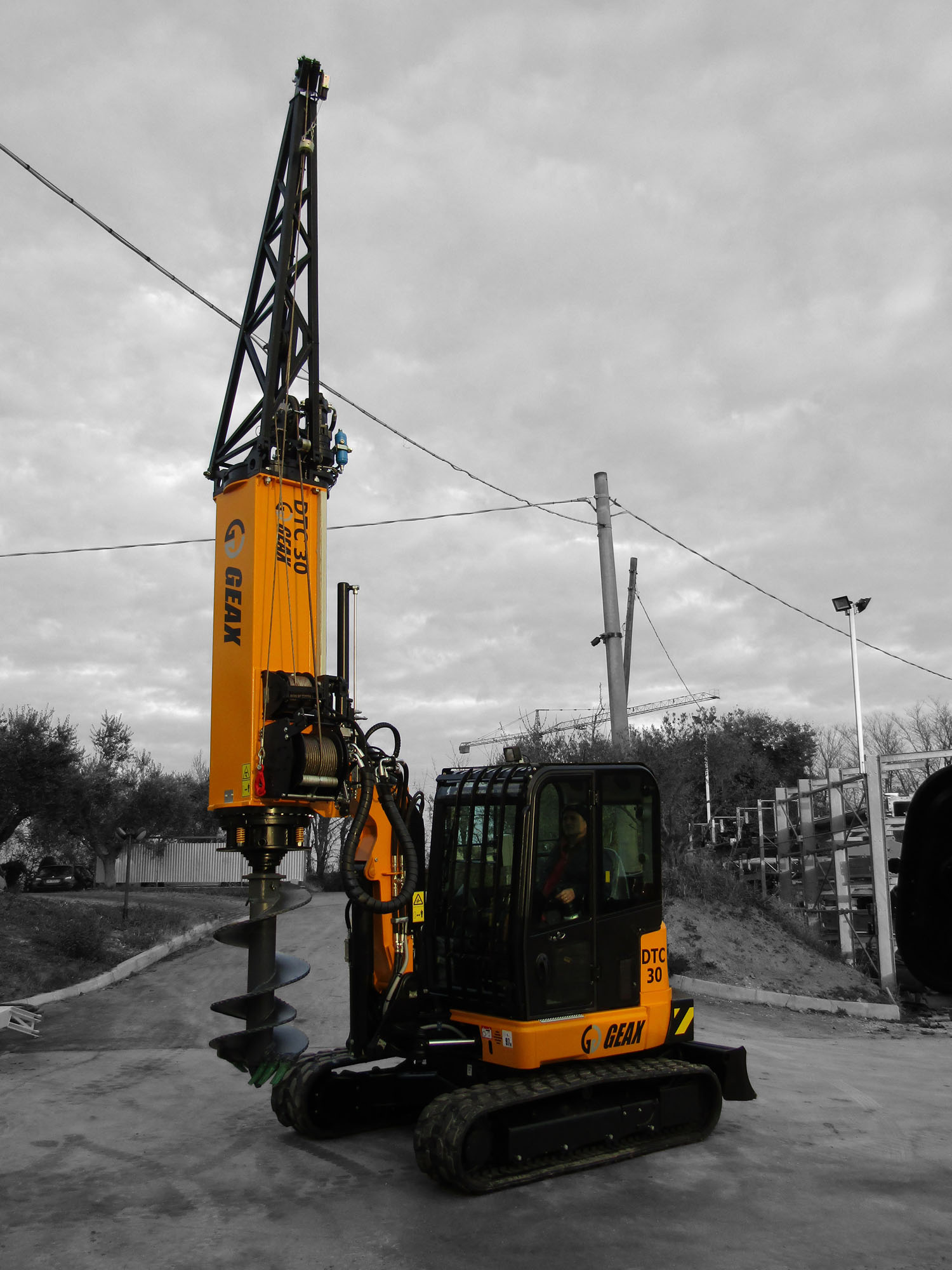 GEAX DTC30  Piling Rig   Piling Rig Mounted on JCB 67C-1 Excavator with Tier 4F Engine  GEAX ~ 2017 Hours: New
