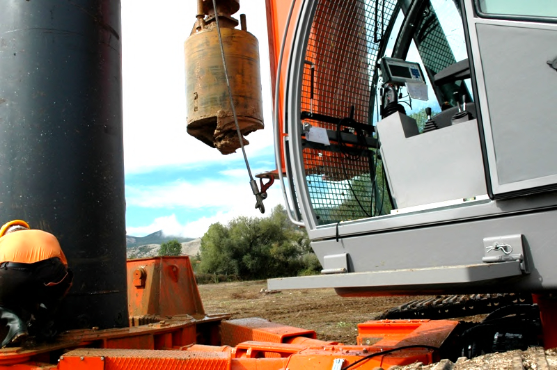 GEO INC VISION -  Monitoring for Verticality Control in Bucket Pile