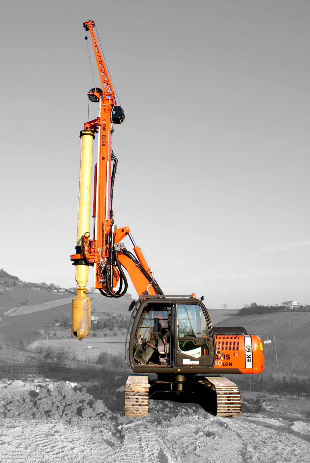 GEAX EK60  Multi-Purpose Piling Rig - CFA Kit Available