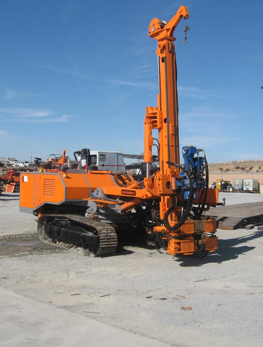 HD90  Micropile/Tieback Machine   HD Engineering ~ 2007 Hours: 3,400