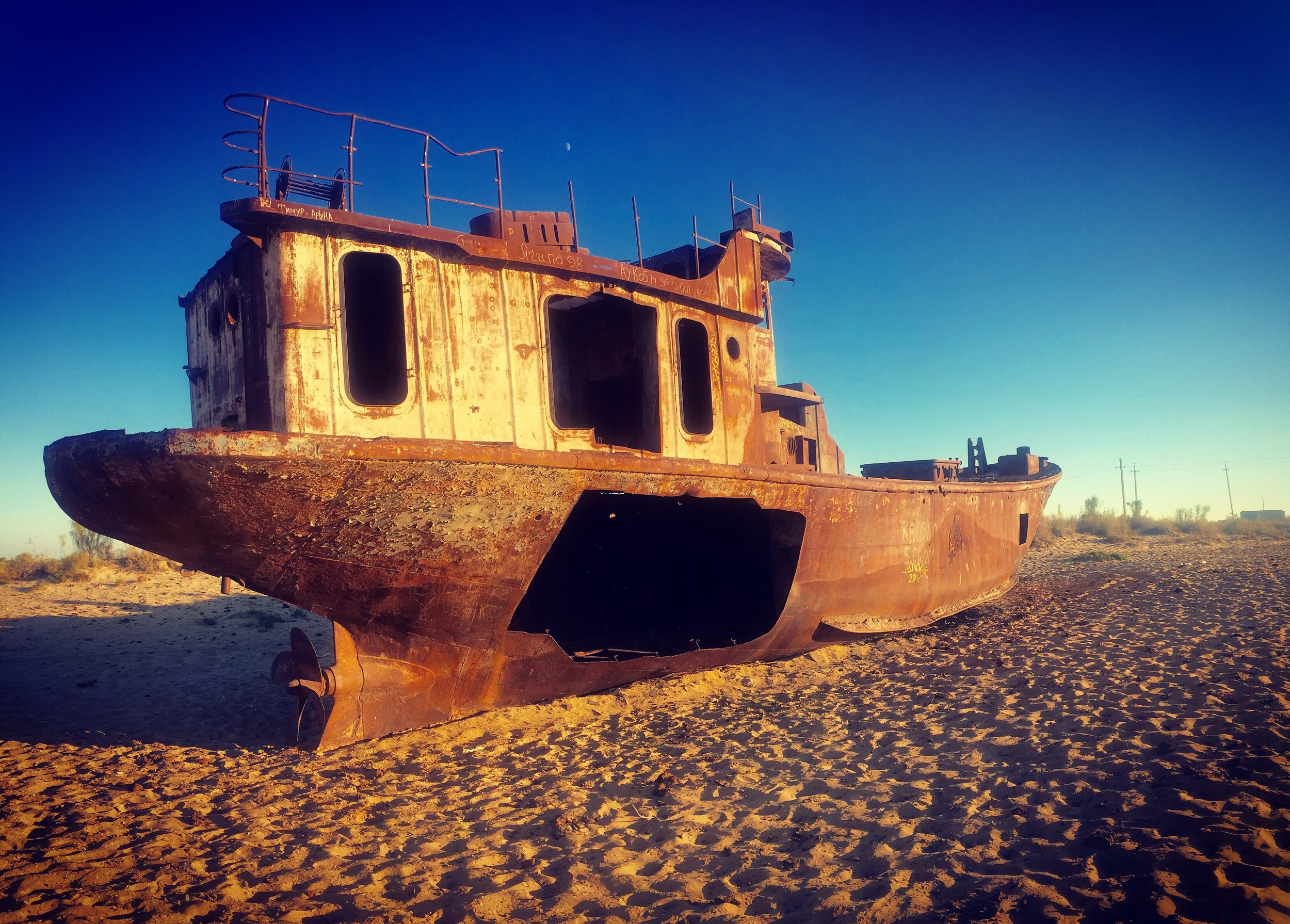 The Dying Aral Sea