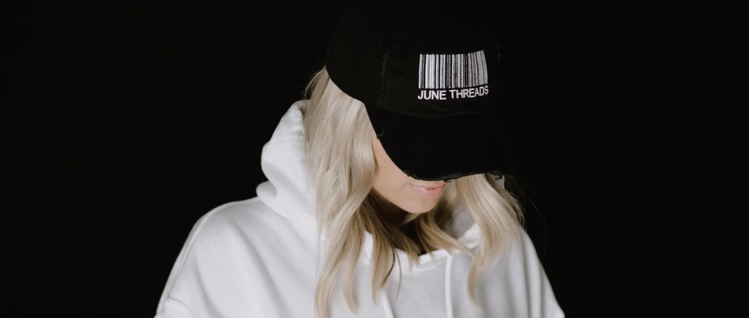 June Threads - 60 second brand identity video for Denver based streetwear startup produced concurrently with a studio photoshoot for June Threads' Spring 2019 line.Video Director: Ben GillespieProduction: Luca Damian, Nathan RaczynskiPhotography: Bailey MicletteLine Producer: Jackie Joyner