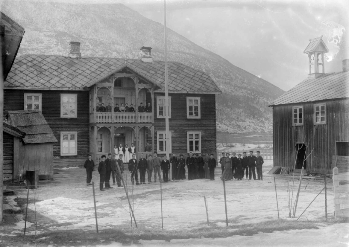 Vik, 1907. Photo: Hans H. Lie / Maihaugen