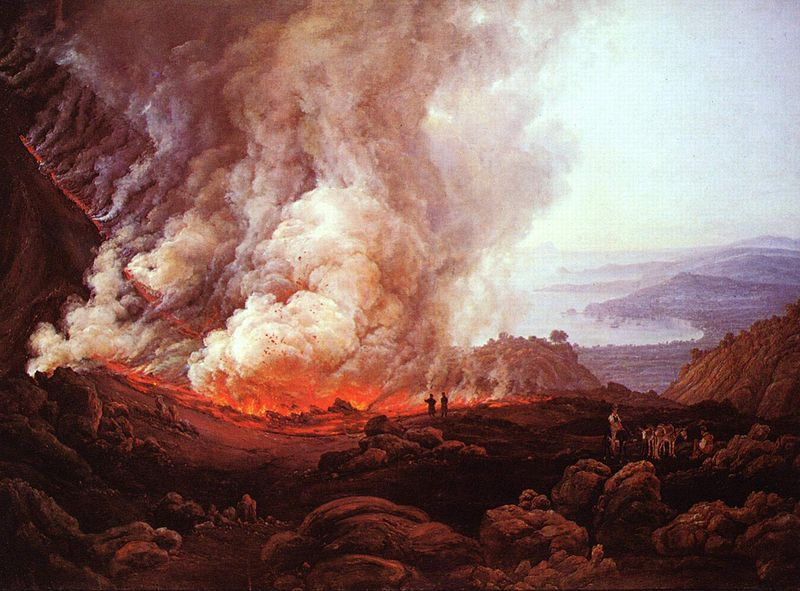 J.C. Dahl, Eruption of the Volcano Vesuvius, 1821