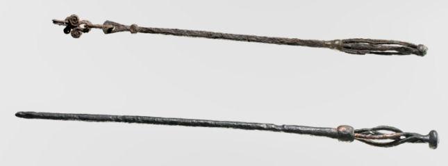 Seiðr staffs? Photo: National Museum of Denmark