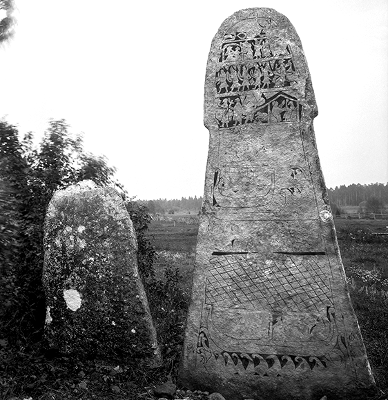 Picture Stones at Änge, Gotland. photo: Wikimedia Commons