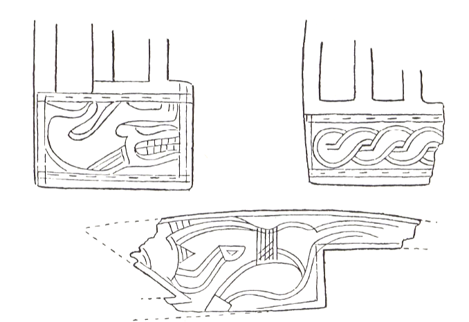Decorated fragments. From Johansen (1979).