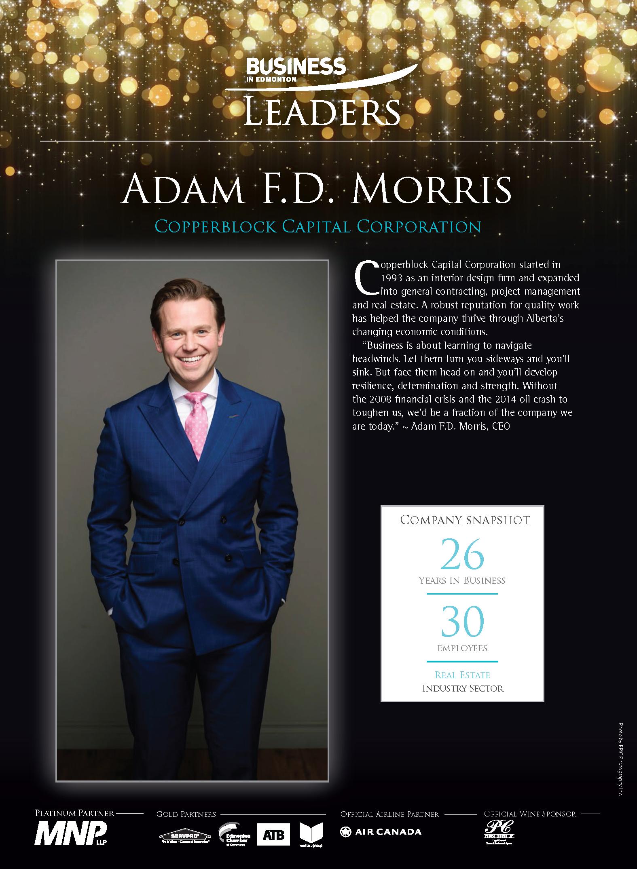 Business in Edmonton Top 20 Leader Adam Morris June 19 2019.png