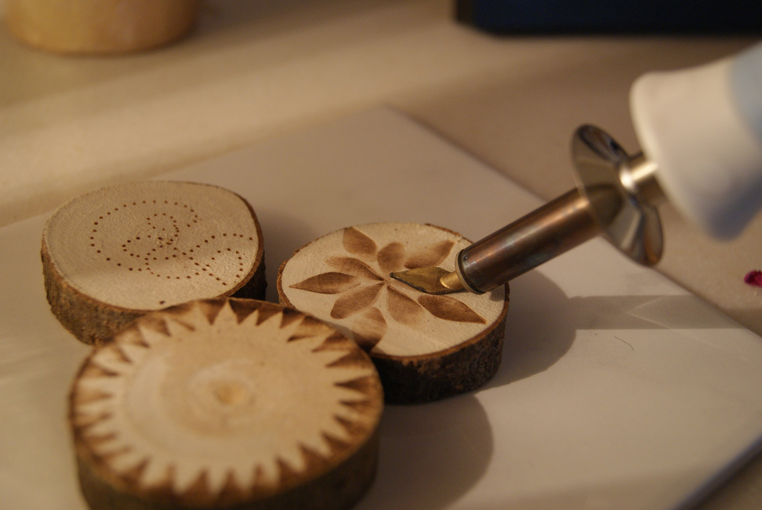 Pyrography (Adults only, up to 2)