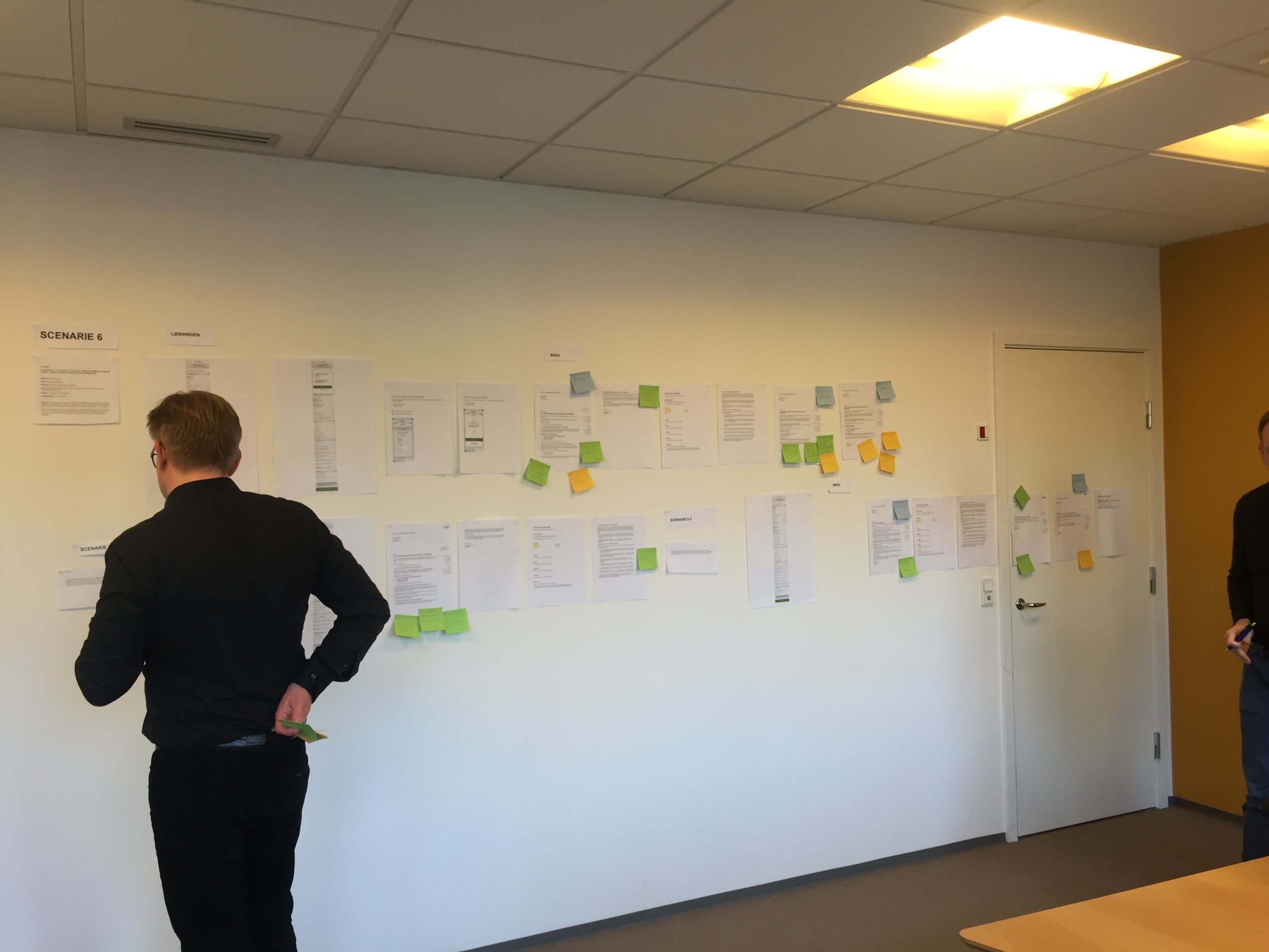 Workshop with ATP where we mapped all touch point across the user journey to make sure that the communication was aligned.