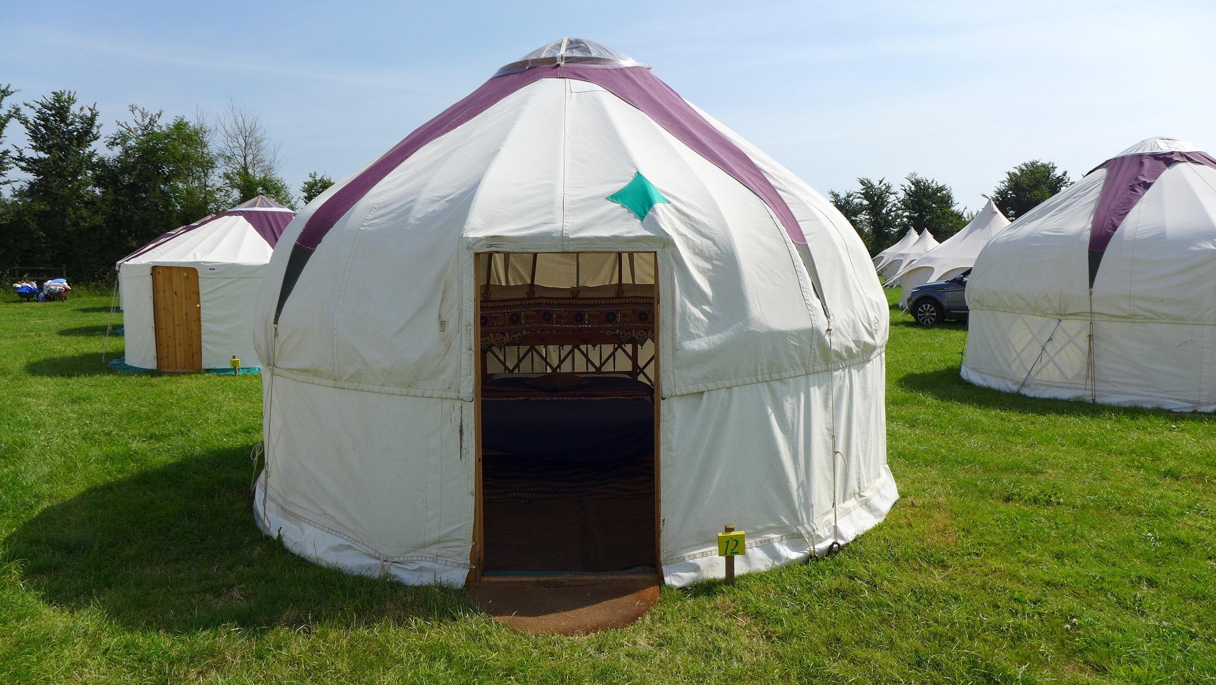 Ash Yurts
