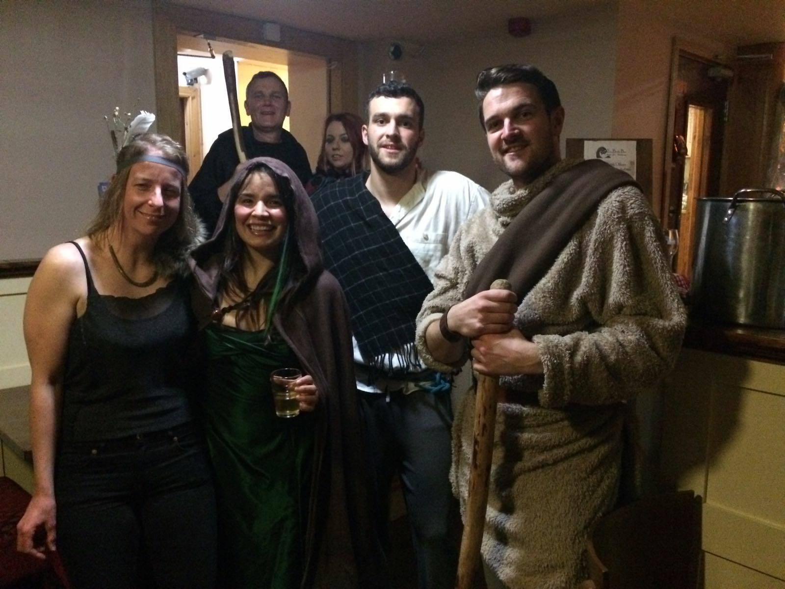Celtic night ID Languages Bank bar Bundoran