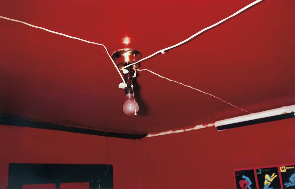 William Eggleston - The Red Ceiling (1973). En umiddelbart ligegyldighed, men alligevel fængende.