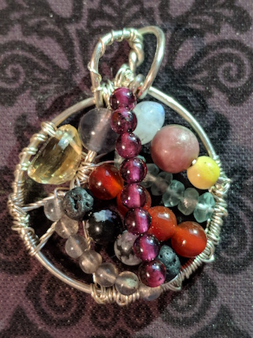 Hand-made pendants made just for you.
